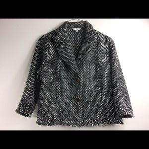 New CAbi Black & White Jacket Size XL