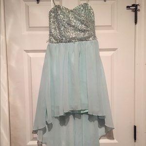 Homecomig Dress High Low