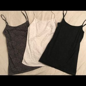 Three Beautiful Lacy Camis - make offer for just 1