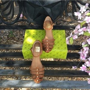 Dolce vita cognac sandals 6.5