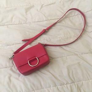 Zara red crossbody bag