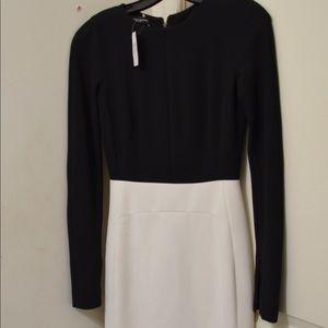 Narciso Rodriguez Black Tweed V Neck retail