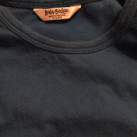Mini Boden Shirts & Tops - Mini Boden Appliqué Tee