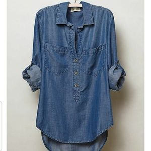 Cloth & Stone {Anthropologie} Chambray Shirt