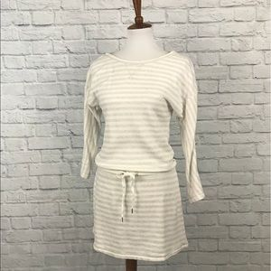 Victoria's Secret Striped Terry Cloth Dress Size S