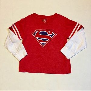 Other - Long sleeve Superman  T-shirt . Size 5T.