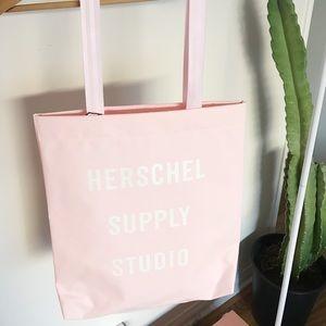 Herschel Supply pastel pink tote