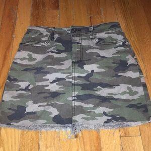 LF Carmar cameo denim skirt!