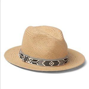Gap Southwestern Straw Panama Hat - NWT Size M/L