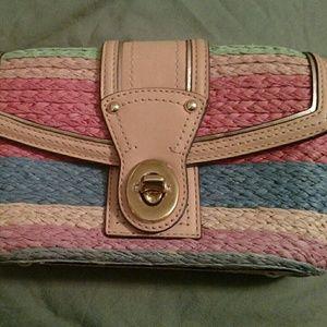 Coach colorful clutch / handbag