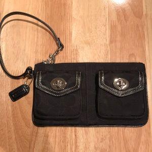 Coach Double Pocket Wristlet
