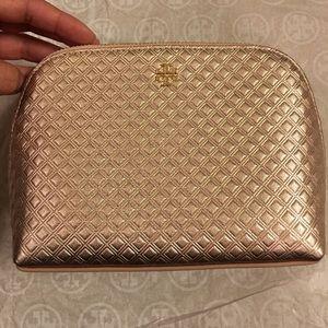 Tory burch , cosmetic bag ROSE GOLD