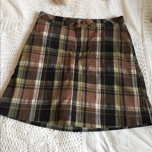 White Stag PLAID sports skort