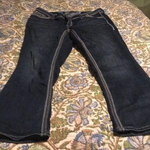 Women's Seven7 boot cut jeans size 18