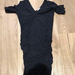 James Perse Cotton Black Dress