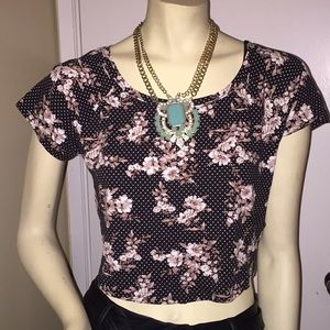 Forever21 Plus Crop Top