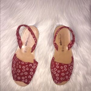 Jeffrey Campbell daisy Print sandals
