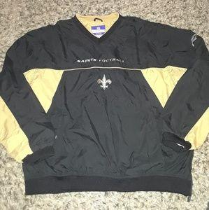 NFL New Orleans saints v-neck pullover