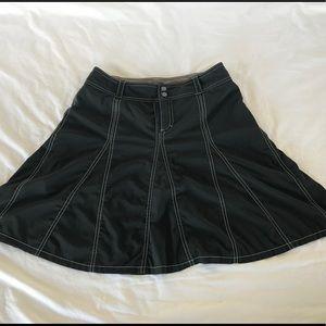 Athleta Black skirt short skort size 6