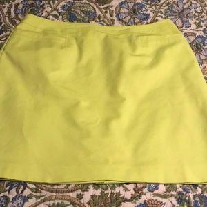 Halogen skirt, yellow, size 16