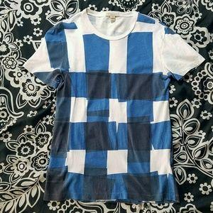 Blue Burberry T-shirt Top