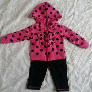 Other - Baby girl jacket and pants