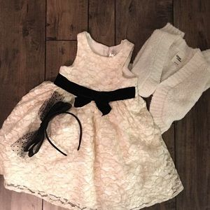 Little Girl Christmas Dress Outfit