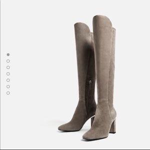 Zara over knee boot 10