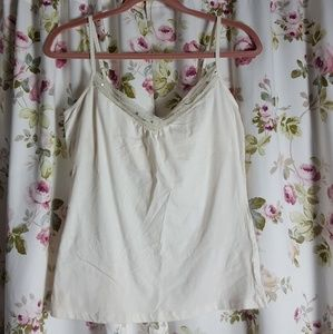 Express off white cami size large