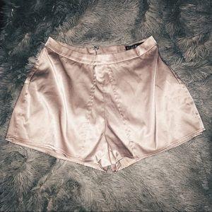 Nasty Gal REHAB Like Mad Layered Shorts