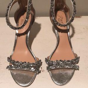 Jewel by Badgley Mischka evening shoes