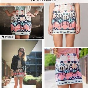 Zara Aztec skirt xs-s