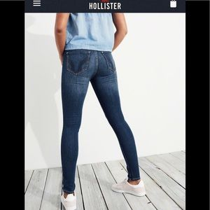 🌻🆕HOLLISTER Stretch High-Rise Super Skinny Jeans