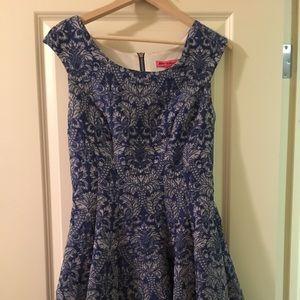 Betsey Johnson brocade dress