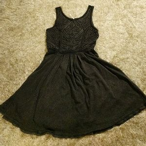 Free People Black dress with cutout in the back