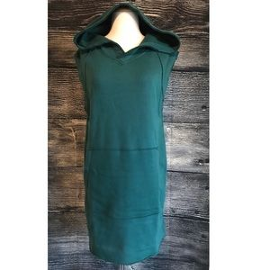 Urban Outfitters Hoodie Dress Small Green BDG