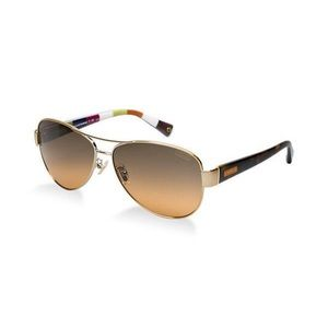 Coach Kristina aviator sunglasses