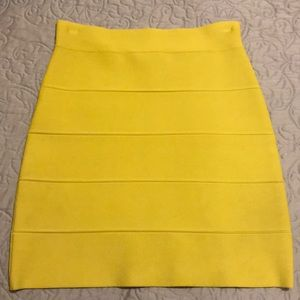 Lemon bandage skirt