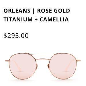 KREWE Rose Gold Sunglasses