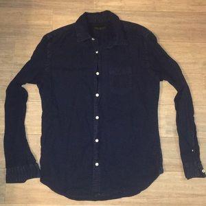 Aeropostale Long Sleeve Button Down Shirt