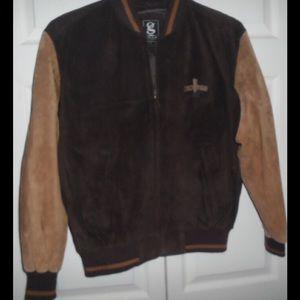 Seneca Niagara Brown and Tan Suede Jacket