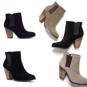 Sole Society Boots Booties 9 Lylee Black