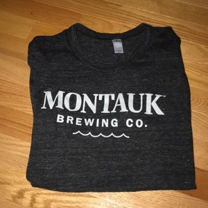 MONTAUK BREWING COMPANY GRAPHIC T SHIRT