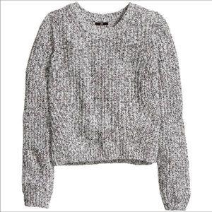 H&M Marled Crewneck Sweater