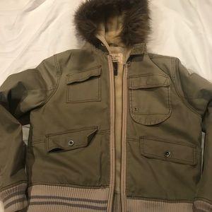 G-Star men's jacket with hood, size Med