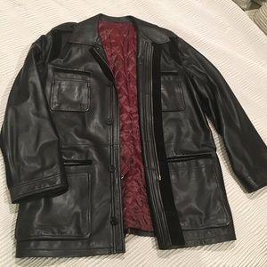 Genuine Leather Bernini Jacket