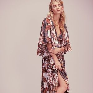 Free People goddess fern maxi dress 👗