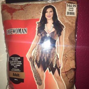 Cave woman Halloween costume