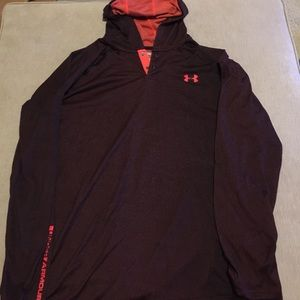Men's Under Armour Athletic LS Hooded Henley