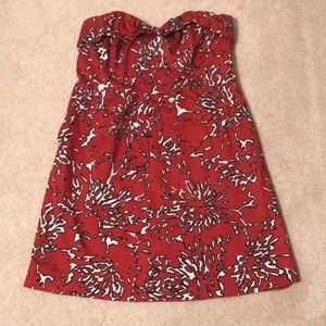 The Limited ladies size 14 strapless holiday dress